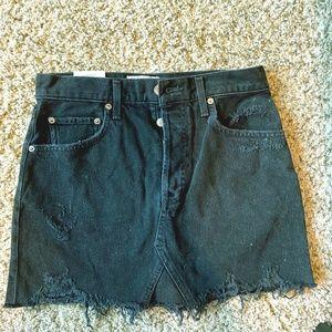 Agolde Jean Skirt